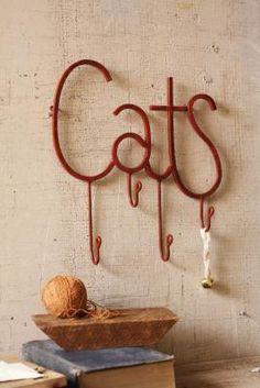 cats coat hook