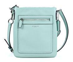 Mint Green Coach Purse   Coach Legacy Leather Swingpack Mint Green Crossbody Shoulder Bag New ...
