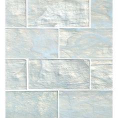Subway Tile 3x6 - color Pearl, Bath & Floor