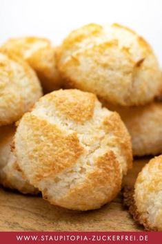 Coconut Macaroons, Cornbread, Sugar Free, Muffin, Snacks, Cookies, Breakfast, Sweet, Ethnic Recipes
