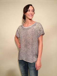 Gold Hawk Monet Tie Dye Lace Top Grey Size s $89.99 | eBay www.darlingdiscounts.com