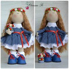 "41 Me gusta, 1 comentarios - текстильные куклы Светланы Т. (@rychnie_kykli34) en Instagram: ""Кукла-горошинка сшита на заказ,рост 32см.#instagood #instalove #dolls #svetlanadolls #handmade…"""