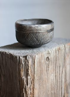 Matcha bowl / Raku fired rustic chawan / Japanese tea bowl