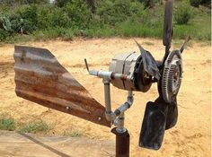 DIY Wind Generator - if you can turn a wrench and operate an electric drill, you can build this simple generator in two days: one day to find the parts and one day to assemble them.