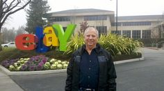 I make my living selling Disney Collectibles on eBay so this picture of the eBay campus is a must