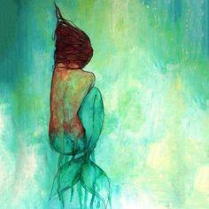 Thursday's got us feeling like we need a mermaid nap #colorinspo #betterthanacatnap #notlonelyjustsleepy #teammermaid