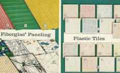 Paneling and Tiles from the 1965 Sears Catalog!