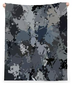 Shades of Gray Paint Splatter beach towel by khoncepts.com