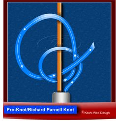 Pro Knot / Richard Parnell Knot / Half Hitch Knot with a Tail