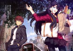 Tags: Anime, Takeuchi Takashi, TYPE-MOON, TYPE-MOON Ace Vol. 10, Fate/stay night, Emiya Shirou, Tohsaka Rin