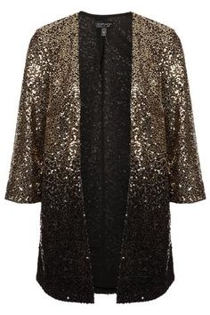 Ombre Sequin Kimono. I can't help that glitter is my favorite color.