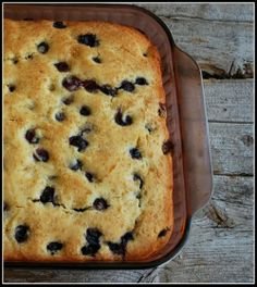Buttermilk Blueberry Breakfast Cake: WANT! | Content in a Cottage