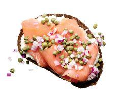 Lunch Under 300 Calories: Open-Faced Lox Sandwich