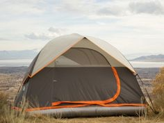 Tent With Built-In Air Mattress