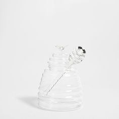 Crystal Honey Jar