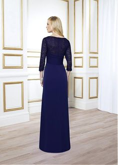 Buy discount Fabulous Chiffon Sheath Bateau Neckline Floor-length Mother of the Bride Dresses at Dressilyme.com