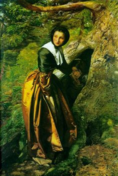 The Royalist - Millais John Everett Style: Romanticism Genre: genre painting Media: oil, canvas