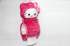 Tempat Tisu Hello Kitty – Tissue Roll Hello Kitty Pink Tua Rp 90.000