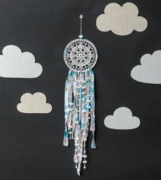 crochet dreamcatcher from Crochet Home by Emma Lamb