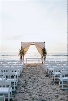 Ceremony with an Ocean View |  Mckenzi Felt | TheKnot.com