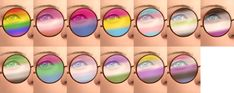 Pride Glasses• EA mesh edit • BGC • For all genders • Proper LODs and maps • Custom icon thumbnail • 13 pride flags (Gay (Raindow), Bisexual, Transgender, Pansexual, Lesbian, Non-Binary, Asexual,...