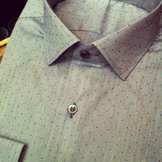 Handmade polka dot shirt! By Christakis Athens