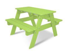 Kids Rectangular Picnic Table