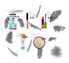 Beginning Makeup Kit for Teens by je-suis-assezz on Polyvore featuring beauty, Rimmel and Maybelline