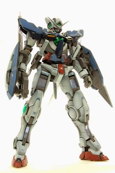 "RG 1/144 Gundam Exia ""Weathering Paint"" Custom Build - Gundam Kits Collection News and Reviews"