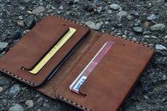 Leather Wallet Wallet-Leather Card Holder от sergklim на Etsy