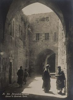 R. Lehnert (1878-1948) and E. Landrock (1878-1966) Jerusalem, ca. 1920