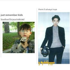 Puberty hit chanyeol like a train. <----THIS