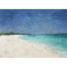 Add coastal-chic appeal to your entryway or kitchen with this gallery-wrapped canvas giclee print, showcasing a lovely seaside motif.  ...