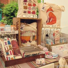 This past week has flown by in a flurry of new products and exciting orders, so that my update on my first craft stall seems to have taken a back seat. As I blogged last week about the preparations…