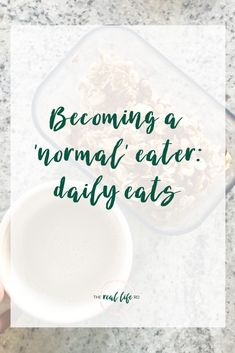 Becoming a Normal Eater | The Real Life RD