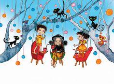 ripuvad puu otsas | by Illustraator Pir Illustrations, Illustration, Character Illustration, Illustrators, Drawings