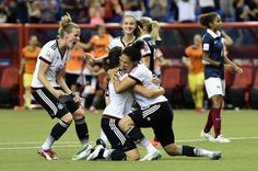 Two-time winners Germany beat France on penalties in Montreal to set up a Women's World Cup semi-final against the United States. It was the first time a Women's World Cup game involving Germany had gone to penalties. #trending #socialglims #sports #sportsnews #mydubai #dubai  #Germany #France #socialmedia #socialmediamarketing  #socialmediaconsulting  #WomenWorldCup2015 #expo2020 #onlinemarketing #digitalmarketing #WorldCup2015 #fifa #football #soccer #Montreal #WomenWorldCup #World Cup