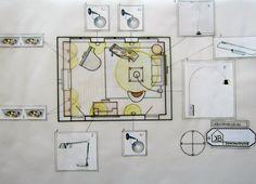 opdracht Interieurstyling:verlichtingsplan bibliotheekkamer Karin van Broekhuizen