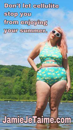 Plus size body positive style blog.