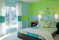 Спальня в зеленых тонах (фото) – уголок спокойствия в доме