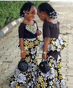 62 Edition Of - We Present kids new week Trendy Asos and African Print Outfits Ankara Styles For Kids, African Dresses For Kids, Latest African Fashion Dresses, African Print Fashion, Kids Party Wear Dresses, Kids Dress Wear, Dresses Kids Girl, Kids Outfits, African Attire