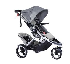 The dash inline buggy is the latest phil&teds innovation, making a light double buggy a reality. With modern, refined styling it looks great too.
