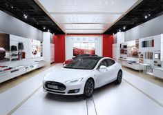 TESLA STORE DESIGN on Behance