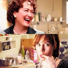 """Love these 2 ladies together! Especially in """"Julie and Julia""""! Always inspires me to cook!"""
