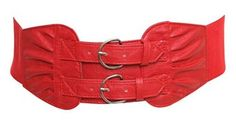 Cute belt to Rock the Red!