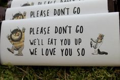 PDF file Where the Wild Things Are Chocolate by DesignsbyPurcell, $10.00