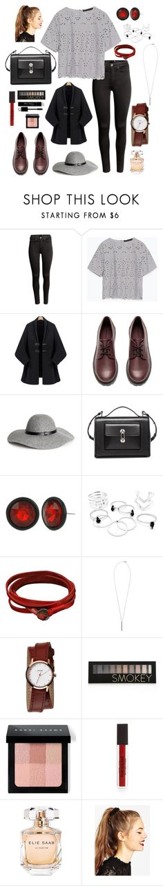 """""""12115"""" by cabbageato ❤ liked on Polyvore featuring H&M, Zara, Balenciaga, Kenneth Cole, French Connection, Nixon, Forever 21, Bobbi Brown Cosmetics, Elie Saab and ASOS"""