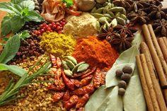 Spice & Herb Blend    • Ground cinnamon    • Dried kelp    • Garlic powder    • Ground mustard seed    •Red chili pepper    • Cayenne    • Ground cumin seed