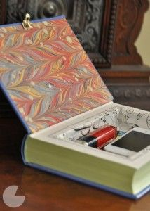 DIY Clutch or box from an old book