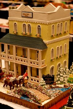 national gingerbread house competition - Google Search